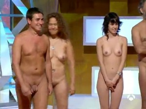 naked cabin in TV show