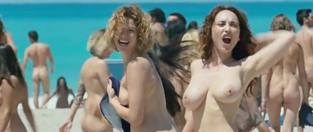 Italian nude beach