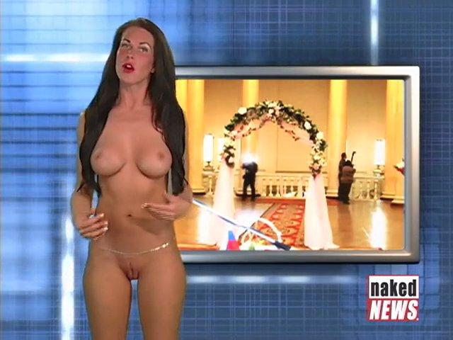 Naked News Whitney St John Nude