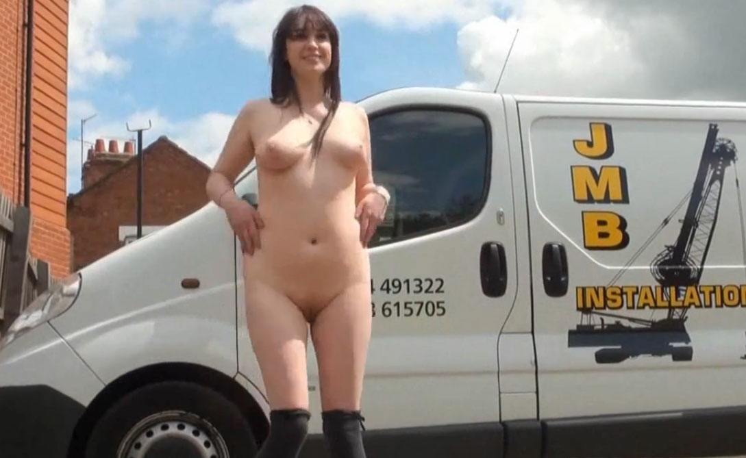 UK naked in public