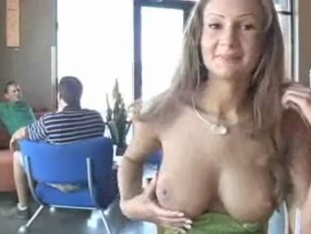 college girl flash big boobs in public | Naked world