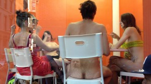 Public Strip Poker in Manhattan