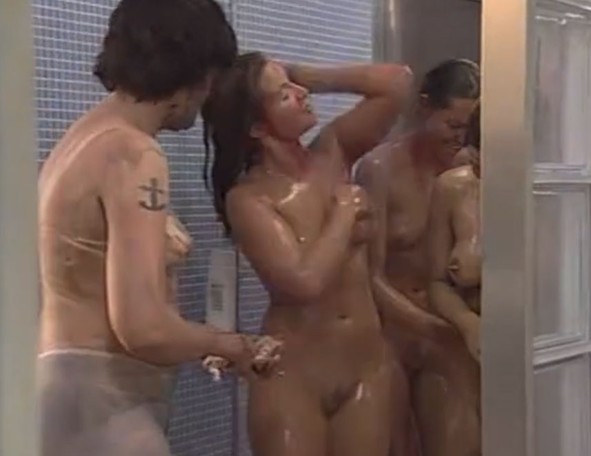 big brother Denmark - naked girls shower