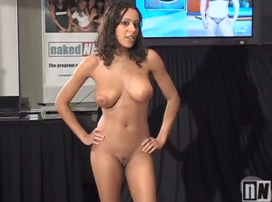 Naked News Audition - Kortney Kaiser