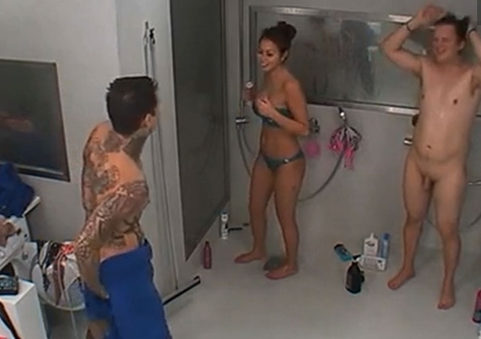 CFNM in the big brother showers