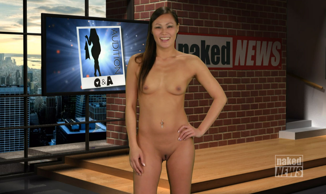 Carli Bei - Naked News audition