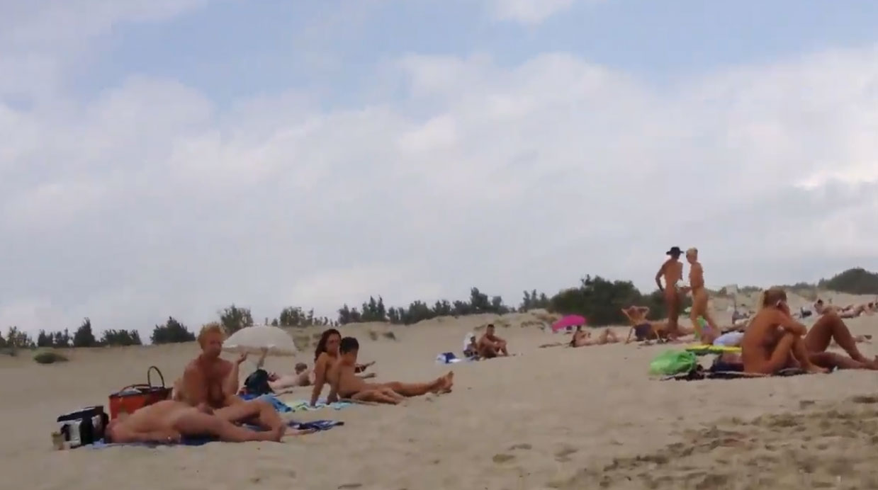 Cap D'agde - naturist village tour