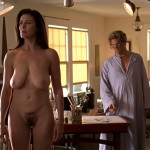 "Mimi Rogers – nude scene from ""The Door in the Floor"""