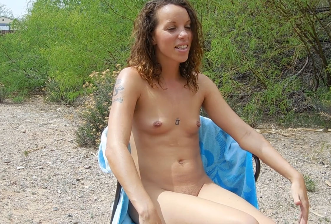 Katrina Rainsong discusses about naturism