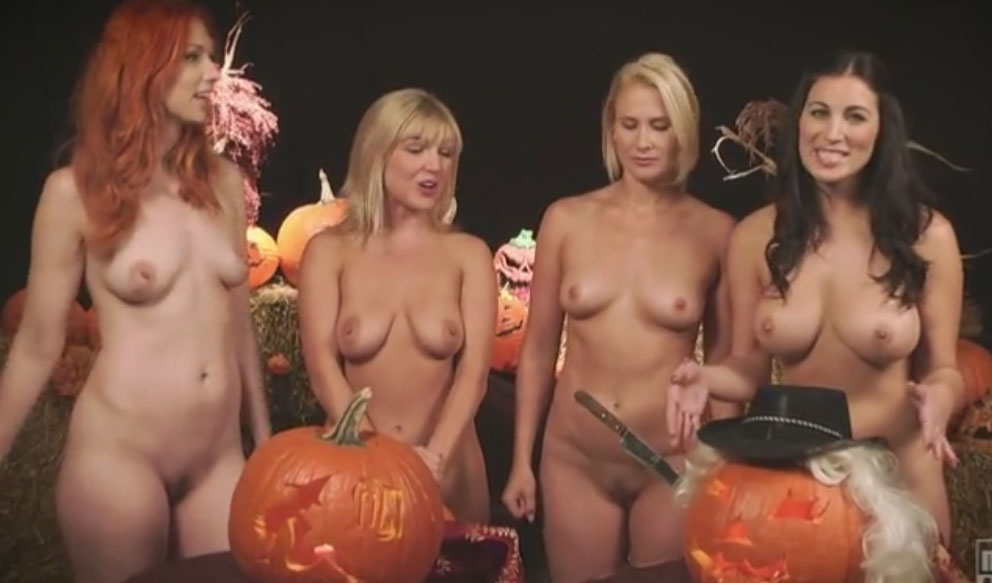 Naked News - Halloween 2014 - full episode