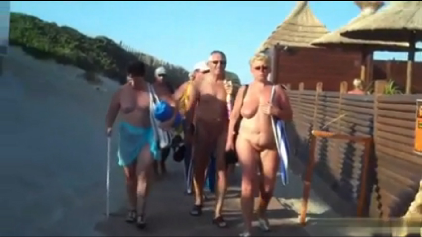 75 minutes of Cap d'Agde nude beach tour
