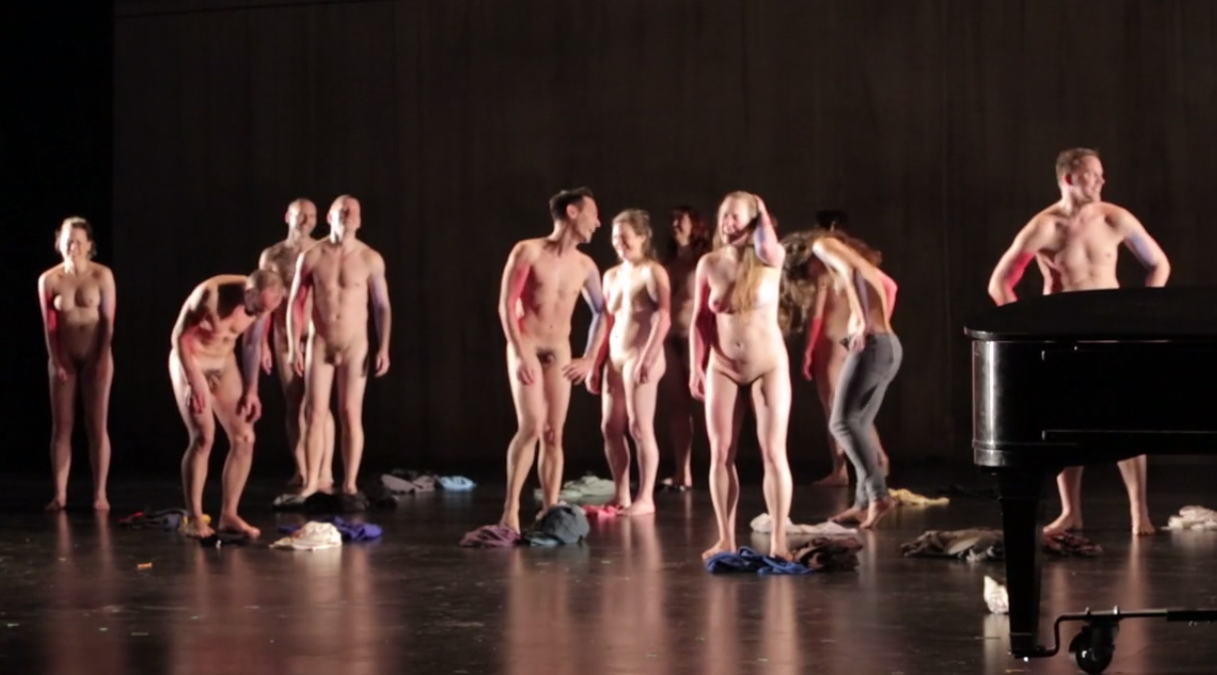 Actors Getting Naked after the show