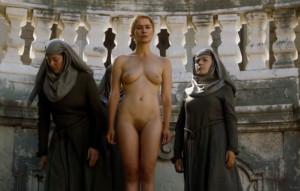 Cersei Lannister - Naked Walk of Shame [HD 1080]