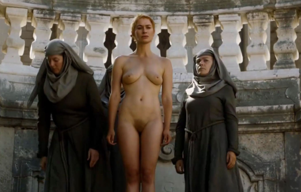 Cersei Lannister - Naked Walk of Shame [HD 1080]