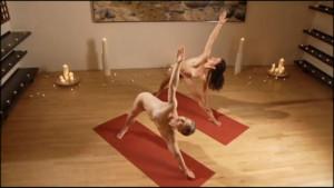 Full Naked yoga lesson [41 min]