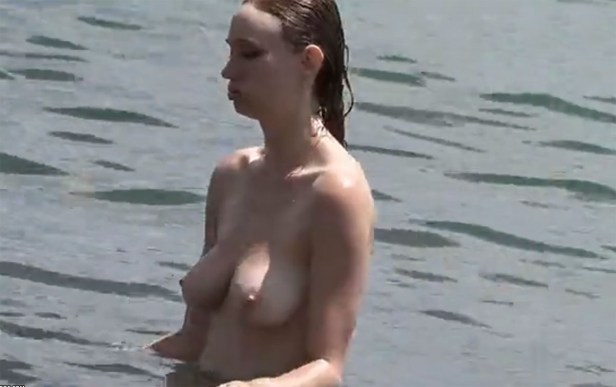 Topless & Free womens at the beach