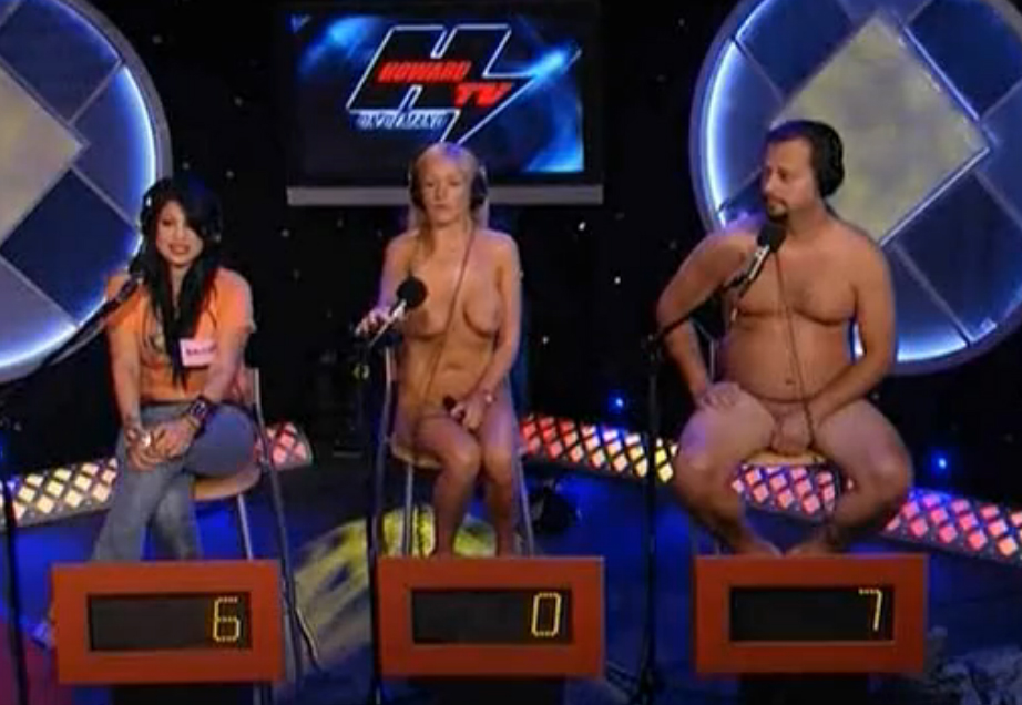 Naked Triva Contest by howard stern's show