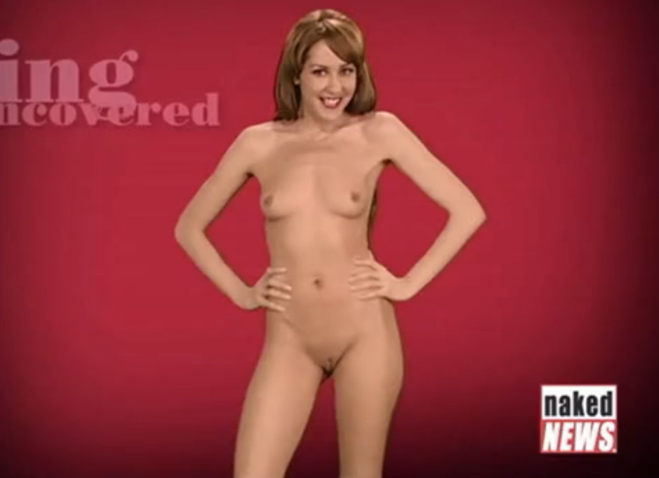 Rachel Simmons Compilation - 50 mins. of Naked Sport News