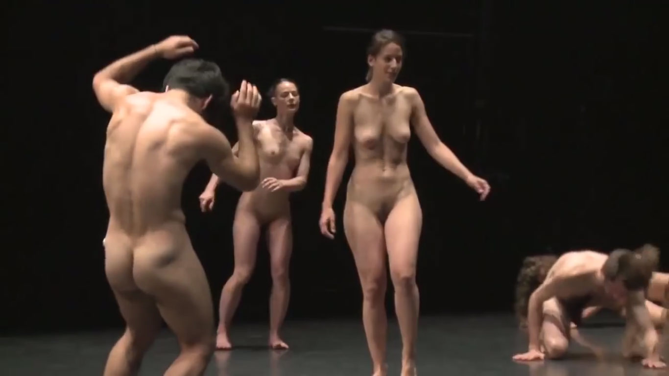 Naked Dance show on stage