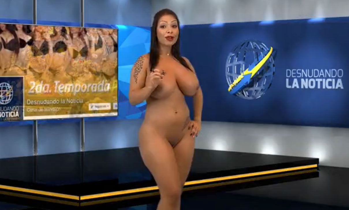 Naked news venezuela - latin anchors