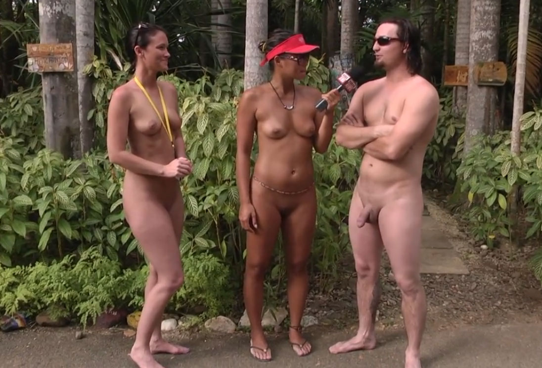 Naked interview in summer camp