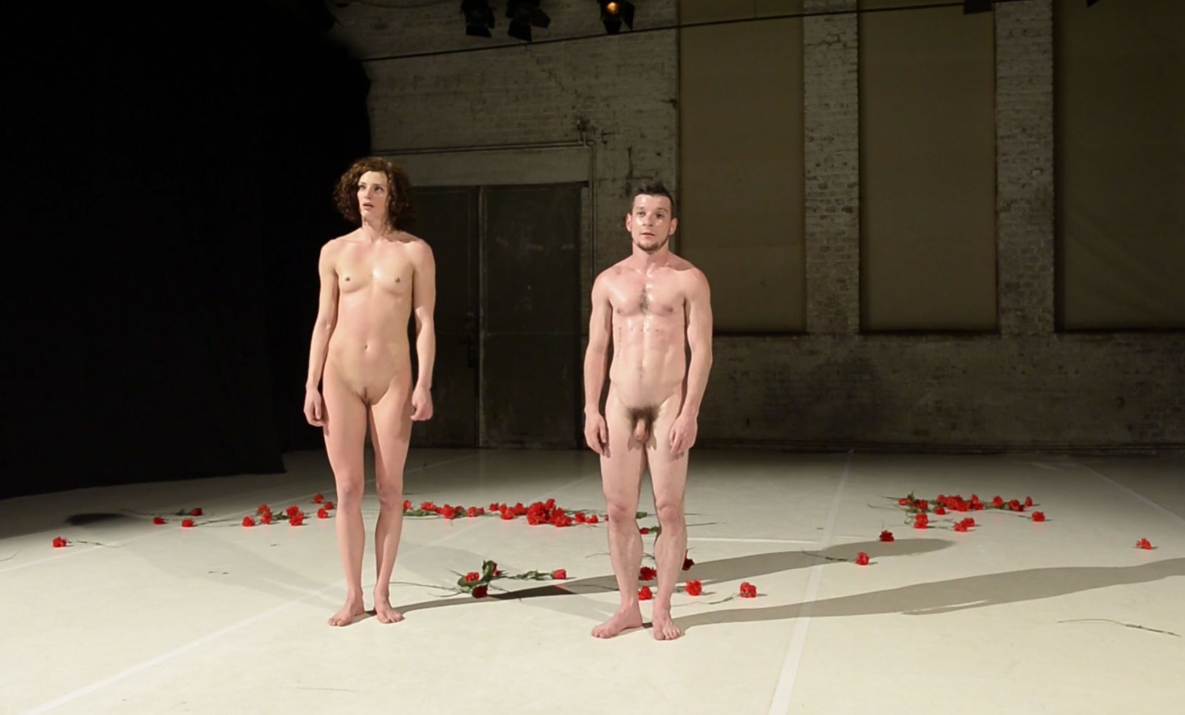 naked choreography show by lovers