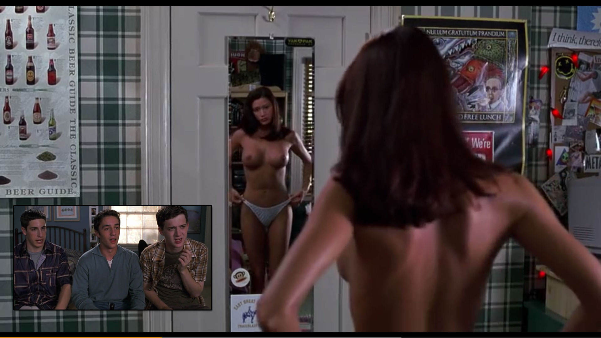 Naked & Nostalgic scene from American Pie (1999)